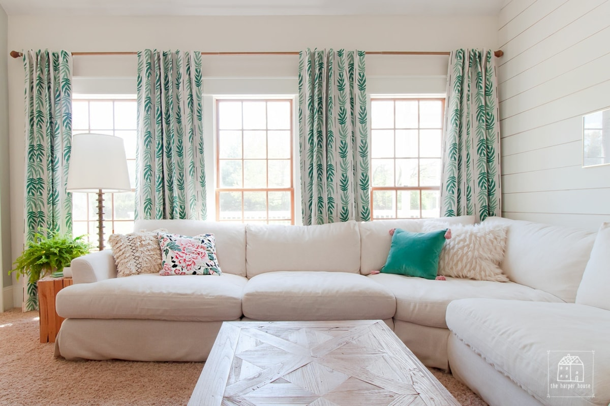 Living room refresh with Drew Barrymore Flower Home