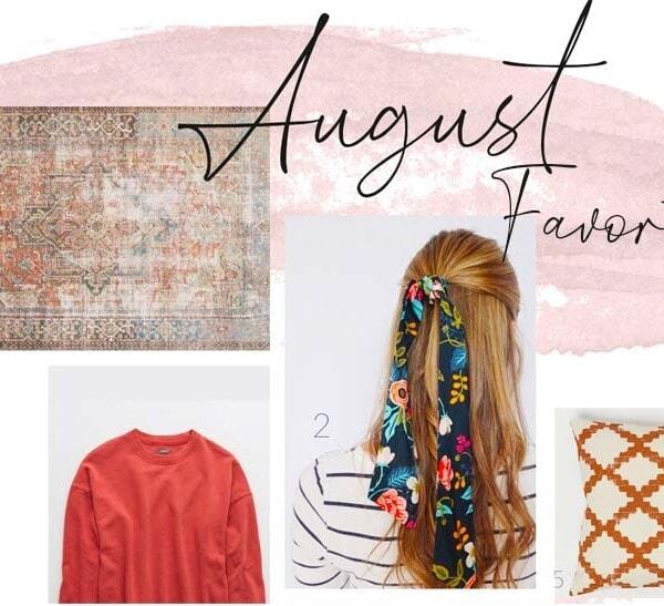 August favorites including hair scarves, boho bracelets, and fall pillows & rugs | see full shopping list on the blog theharperhouse.com #falldecor #homedecor