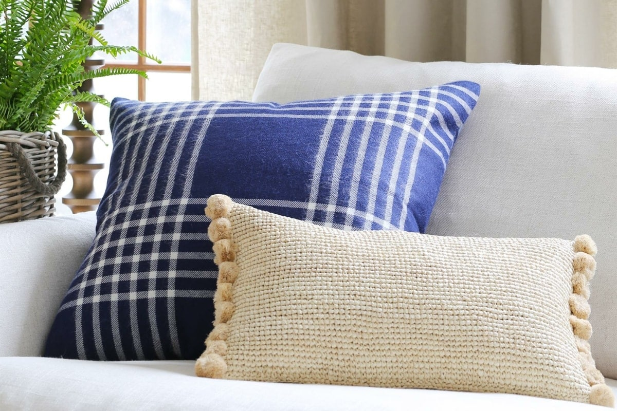 new fall pillows from Serena and Lily