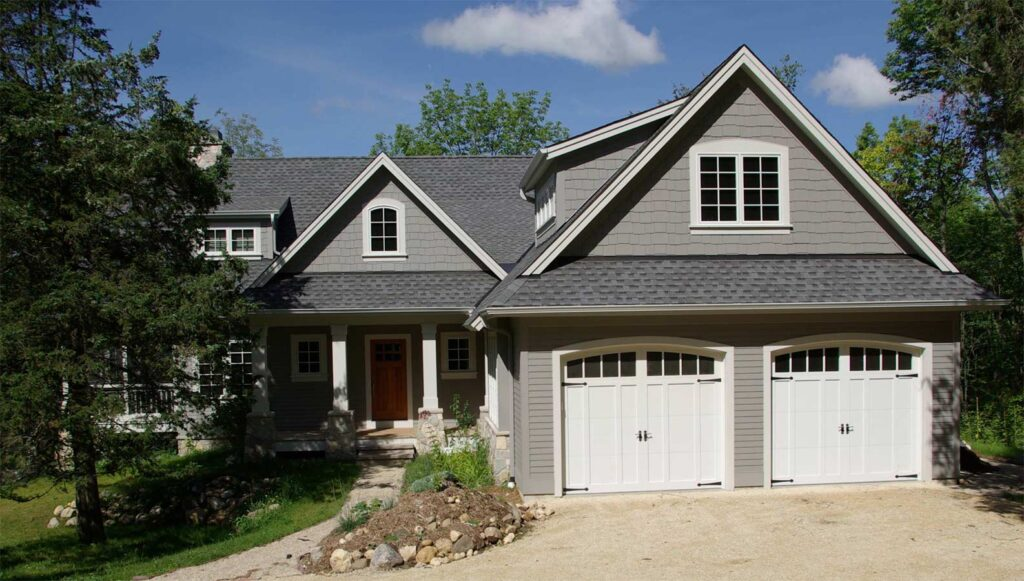 True Gray paint color for exteriors