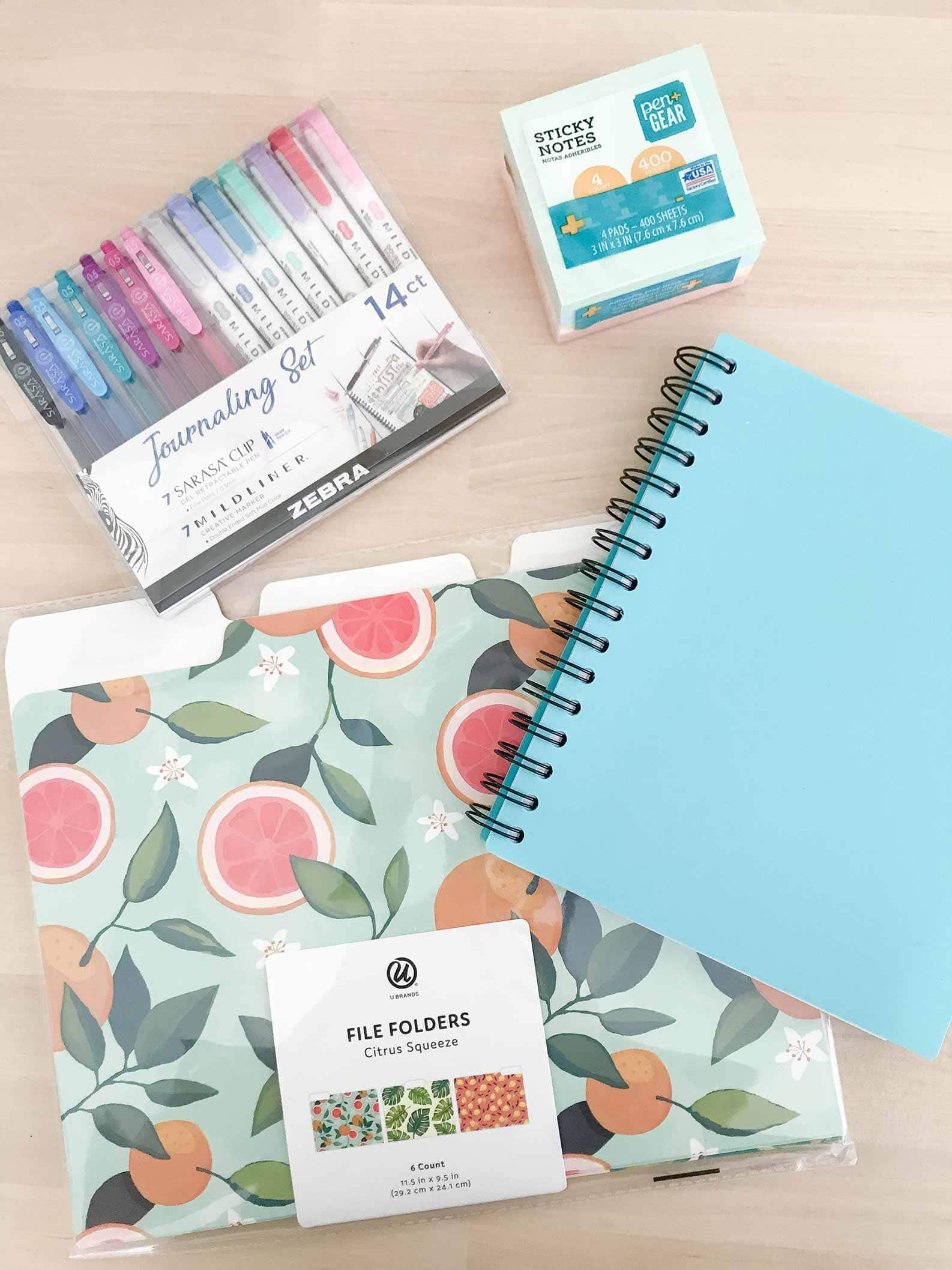 cute office and back to school supplies from walmart