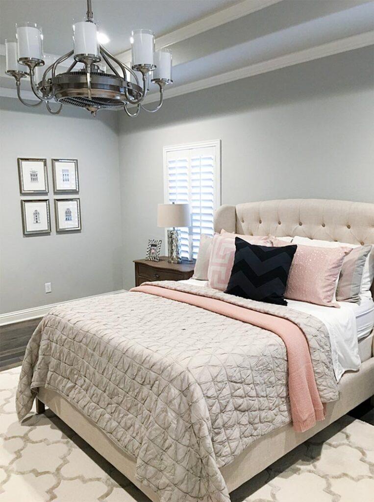 Gray Bedrooms, Repose Grey Bedroom, Best Neutral Paint Colors