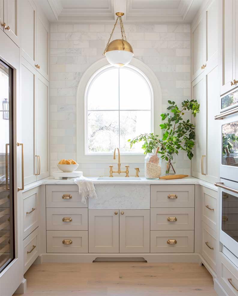 gray kitchen cabinet ideas
