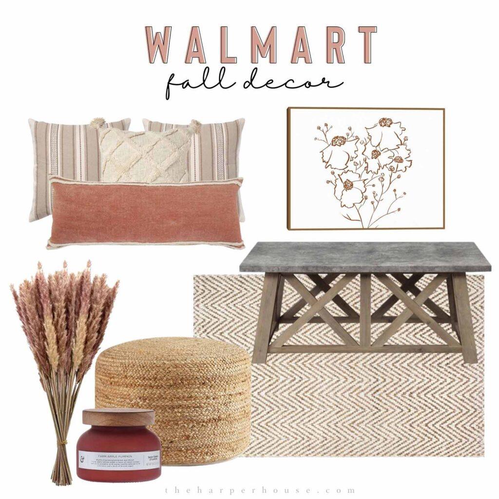 Walmart fall decor ideas